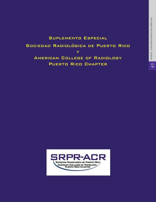 suplemento especial: Sociedad Radiológica de PR