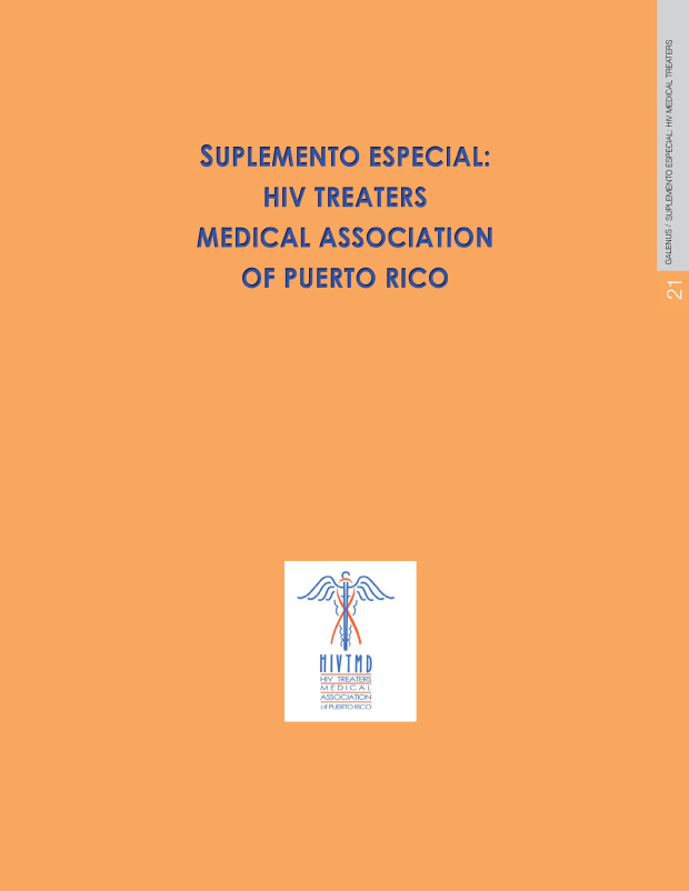 Suplemento Especial : HIV Treaters Medical Association of Puerto Rico