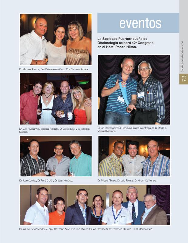 La Sociedad Puertorriqueña de Oftalmología celebró 42o Congreso en el Hotel Ponce Hilton
