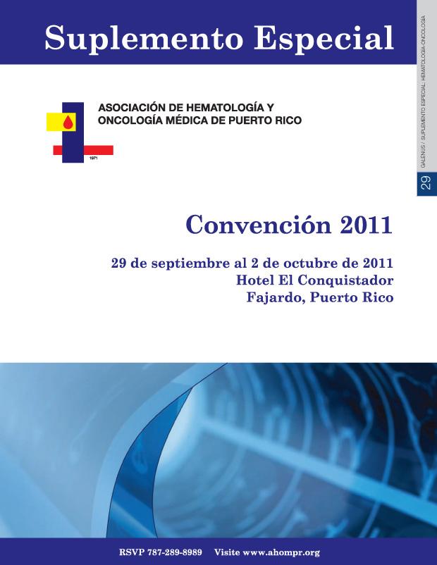 Suplemento Especial: Hematología y Oncología