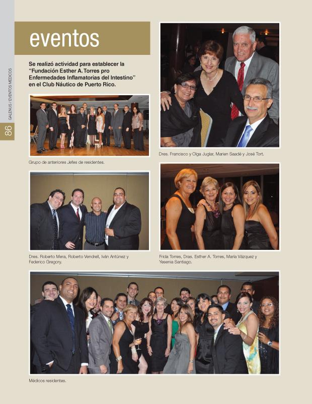 """Se realizó actividad para establecer la """"Fundación Esther A. Torres pro Enfermedades Inflamatorias del Intestino"""" en el Club Náutico de Puerto Rico."""