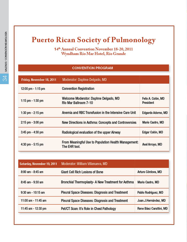 Society of Pulmonology