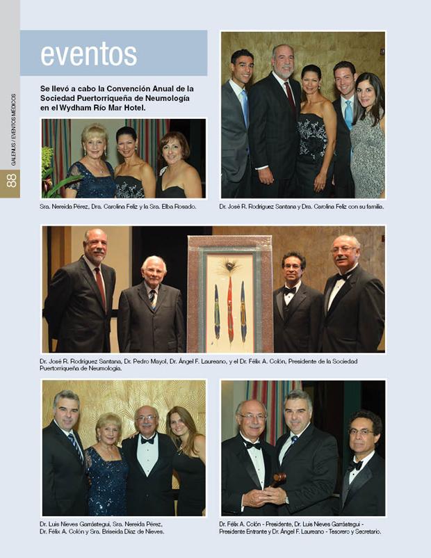 Se llevó a cabo la Convención Anual de la Sociedad Puertorriqueña de Neumología en el Wydham Río Mar Hotel.
