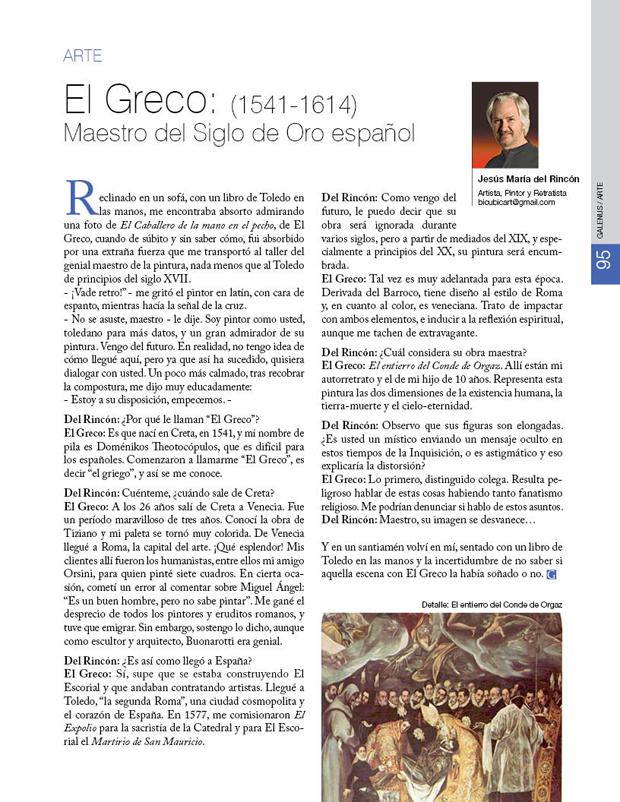 El Greco: (1541-1614) Maestro del Siglo de Oro español