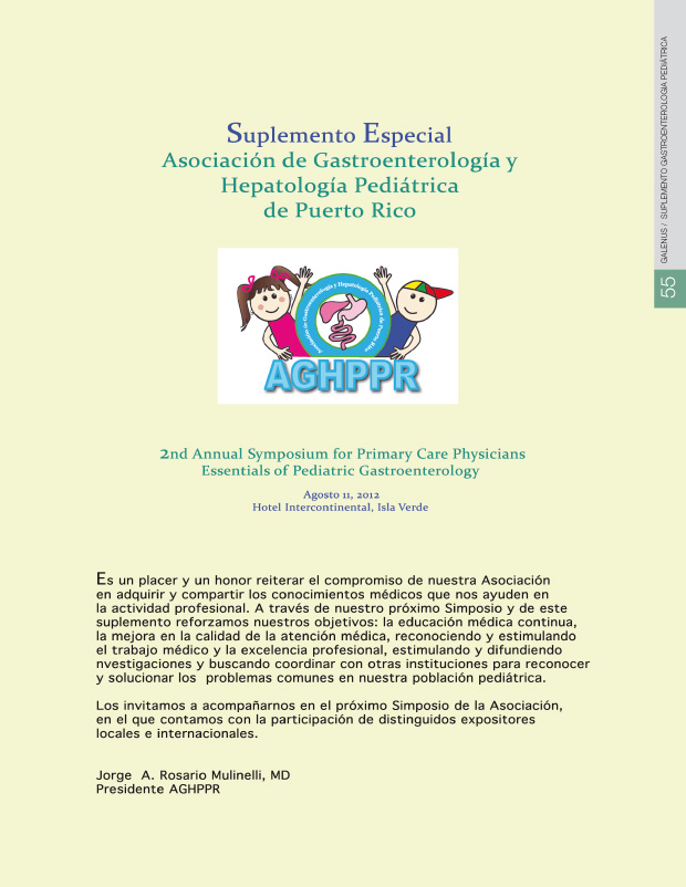 Suplemento gastroenterologia pediátrica