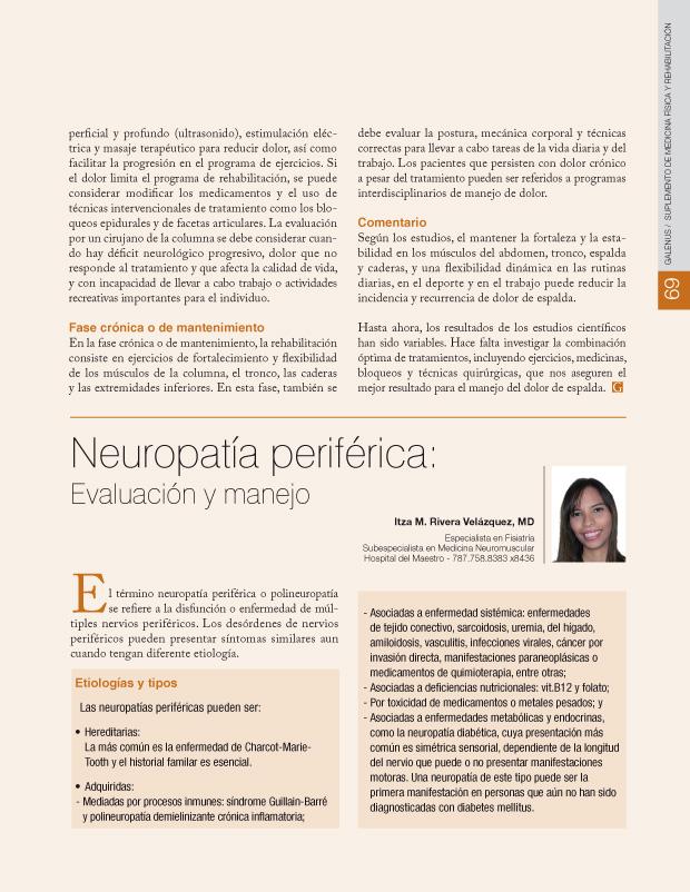 Neuropatía periférica: