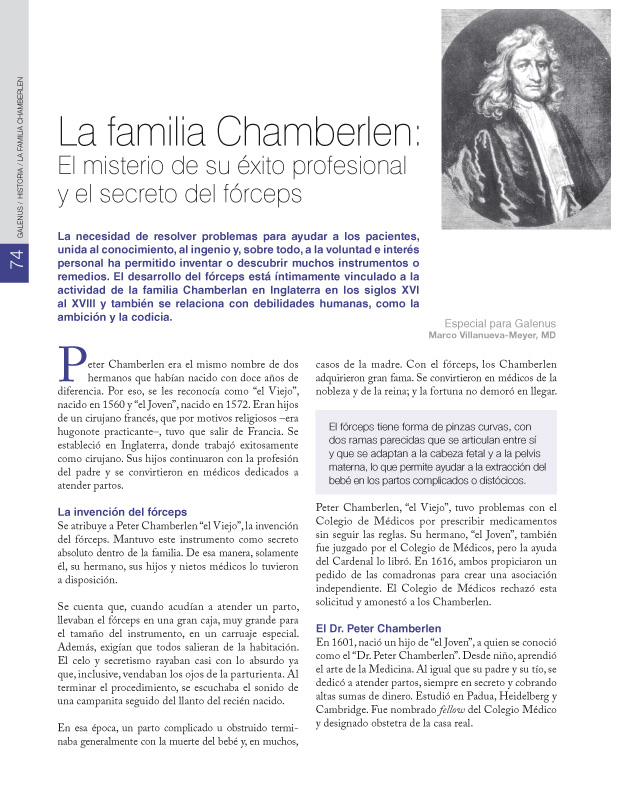 La familia Chamberlen: