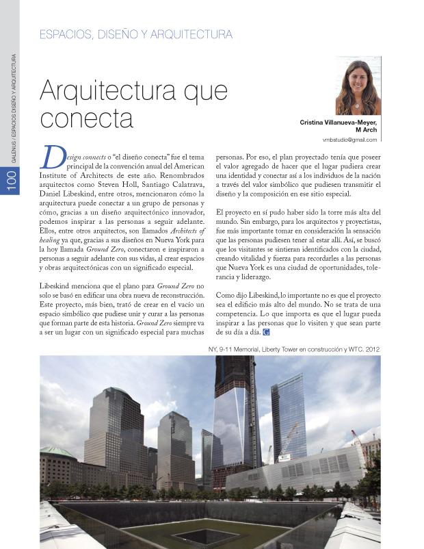 Arquitectura que conecta