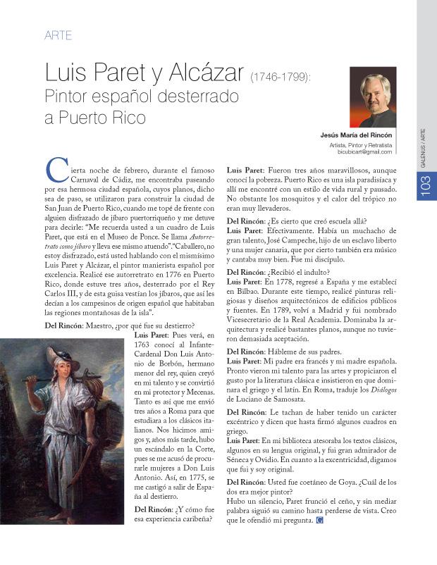 Luis Paret y Alcázar (1746-1799):