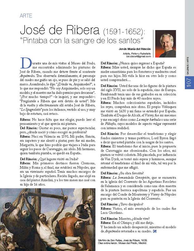 """José de Ribera (1591-1652): """"Pintaba con la sangre de los santos"""""""