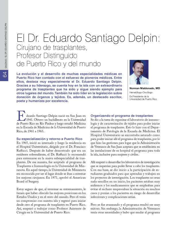 Historia de la Medicina de Puerto Rico