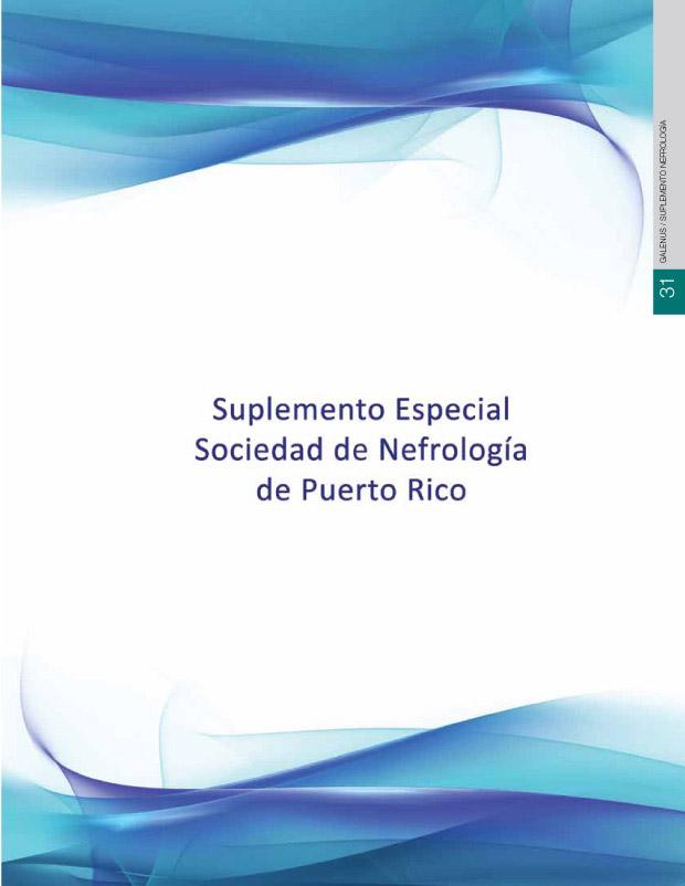 Suplemento Especial Sociedad de Nefrología de Puerto Rico