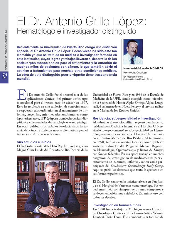 Historia Puerto Rico / Dr. Antonio Grillo López