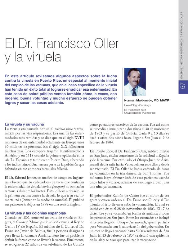 DR. FRANCISCO OLLER