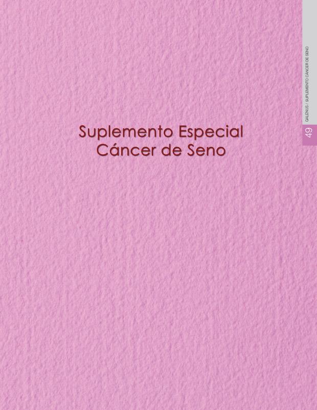 SUPLEMENTO cáncer de seno