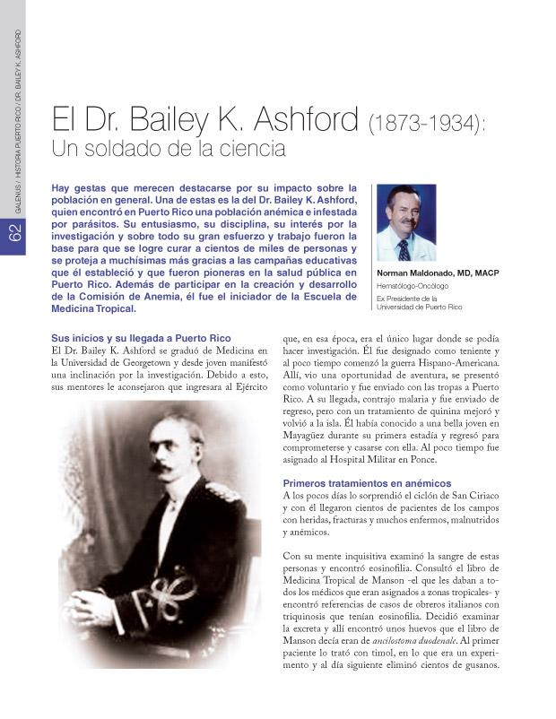 Historia puerto rico / Dr. Bailey K. Ashford