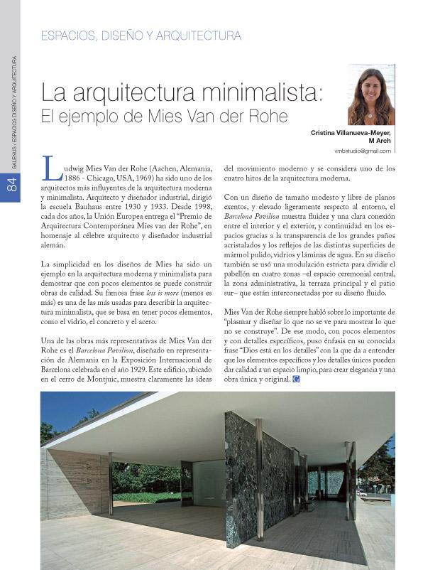 Espacios diseño y arquitectura