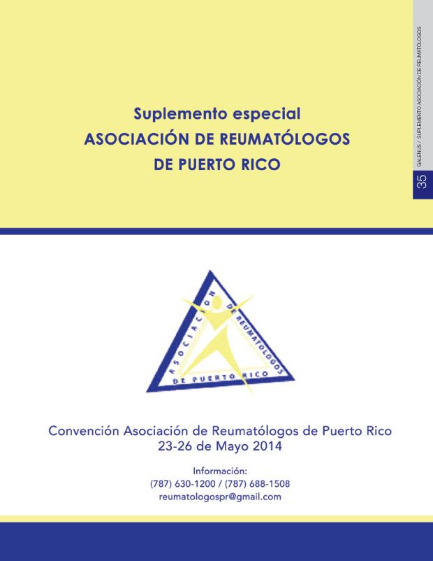 Suplemento Asociación de Reumatólogos