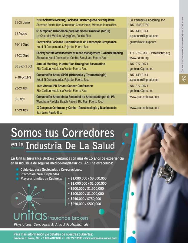 Calendario de Eventos Médicos en el Mundo