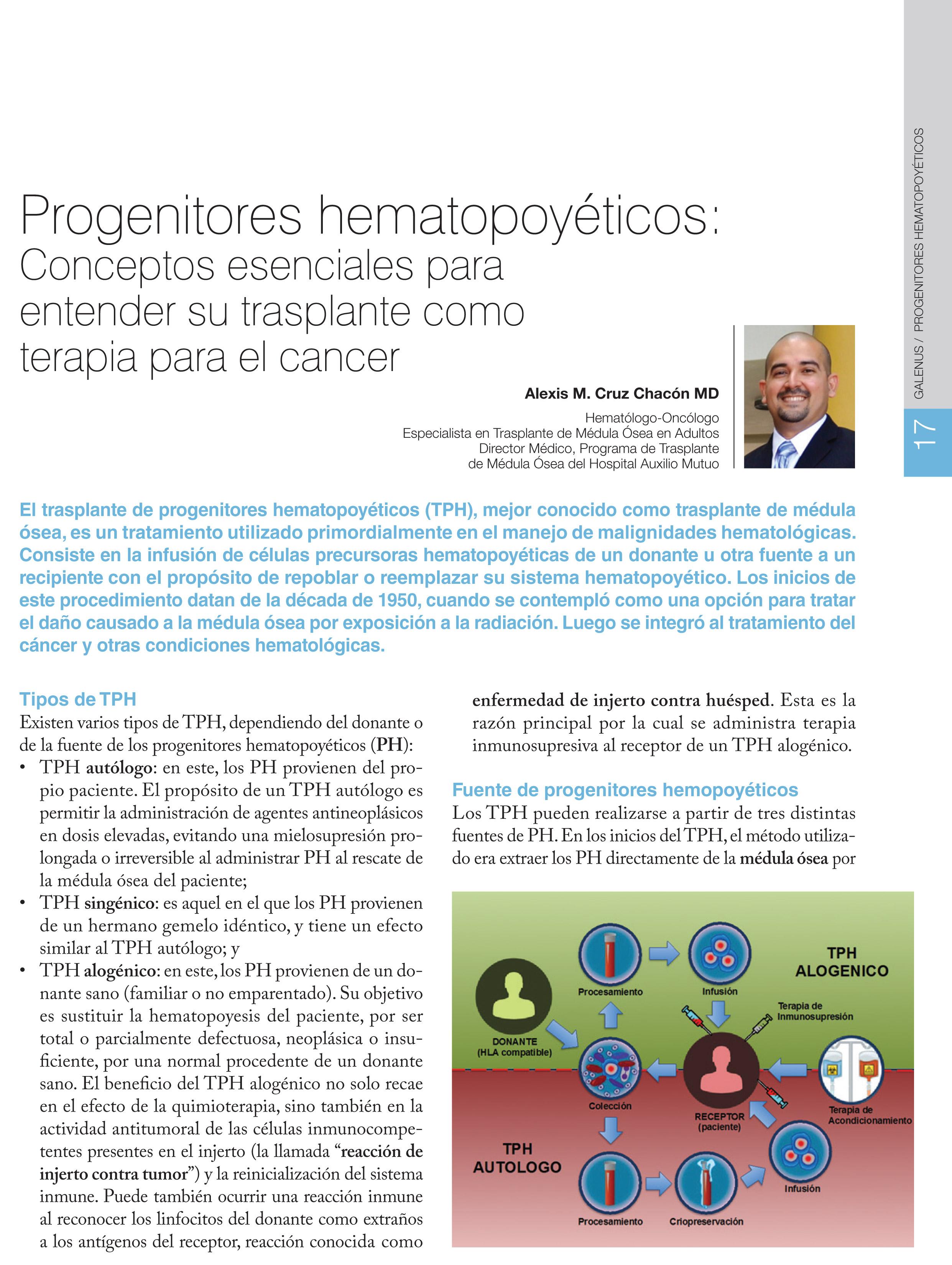 Progenitores hematopoyéticos