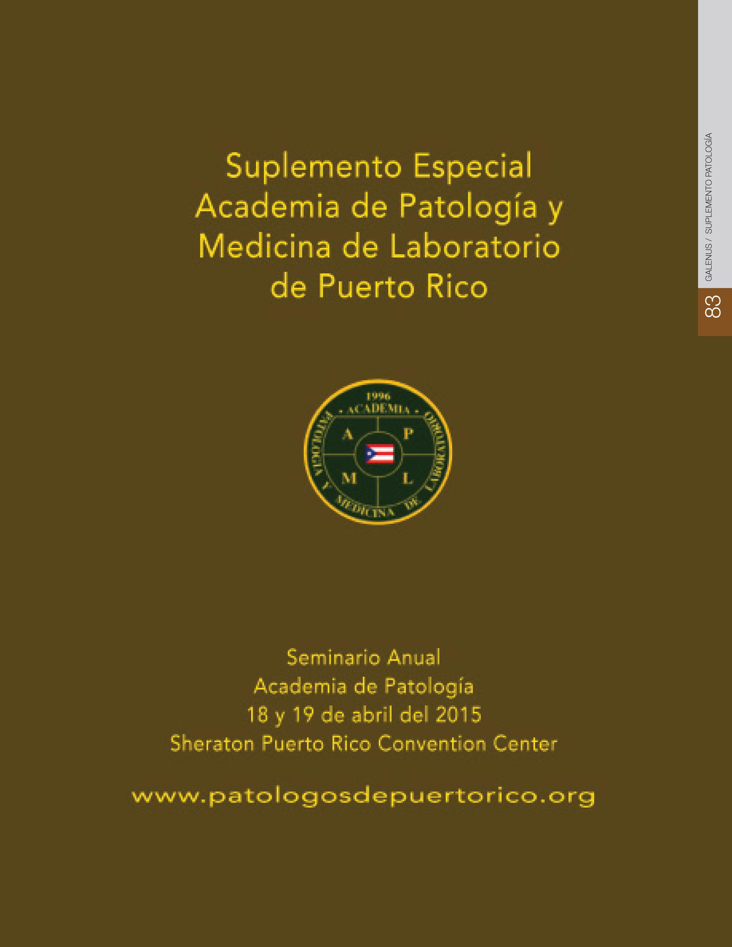 Suplemento Patología