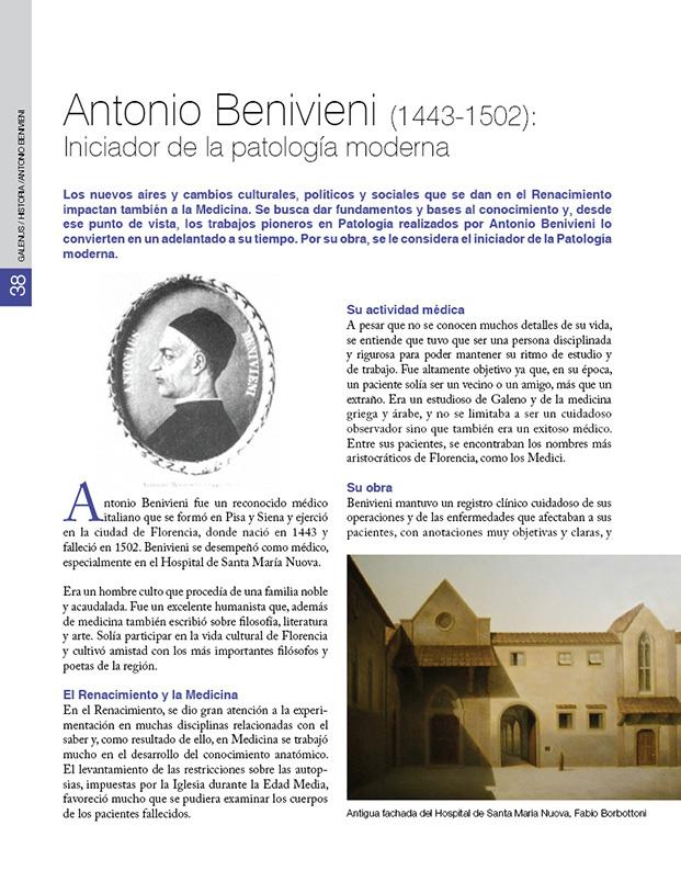 HISTORIA/Antonio Benivieni