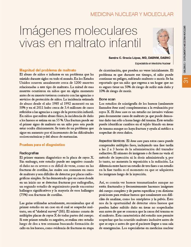 Suplemento: Sociedad de Medicina Nuclear e Imagen Molecular de Puerto Rico