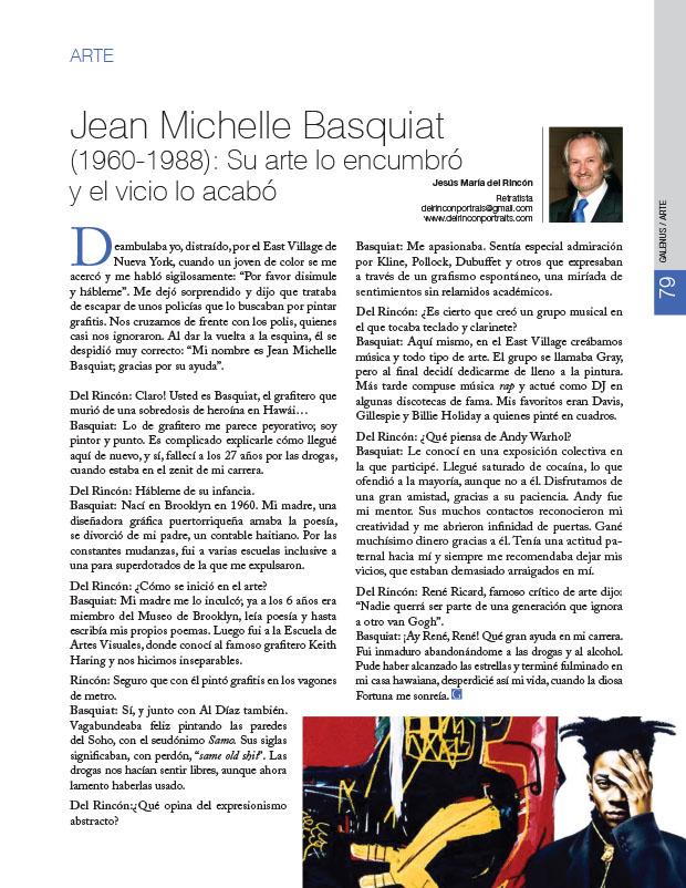 Arte: Jean Michelle Basquiat (1960-1988): Su arte lo encumbró y el vicio lo acabó