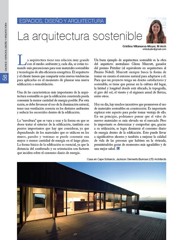Espacios, diseño y arquitectura