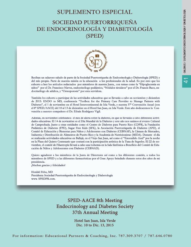 Suplemento Endocrinología y Diabetología