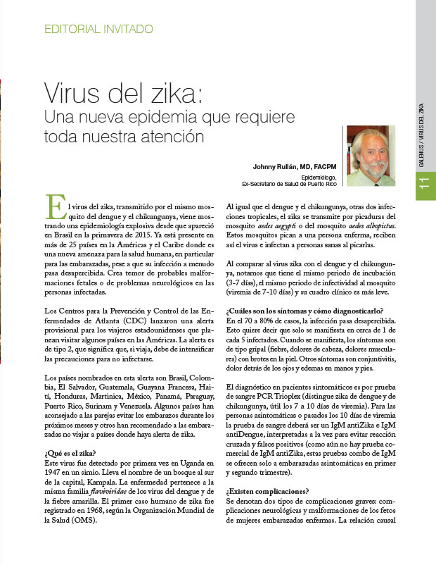 Editorial Invitado: Zika