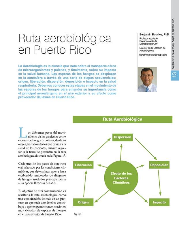 Ruta aerobiológica en Puerto Rico