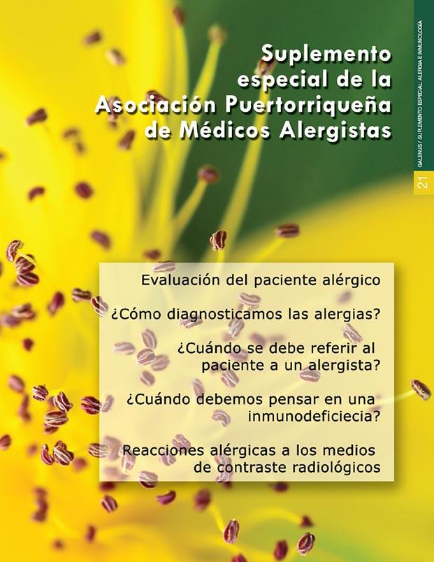 Suplemento especial: Alergia e Inmunología