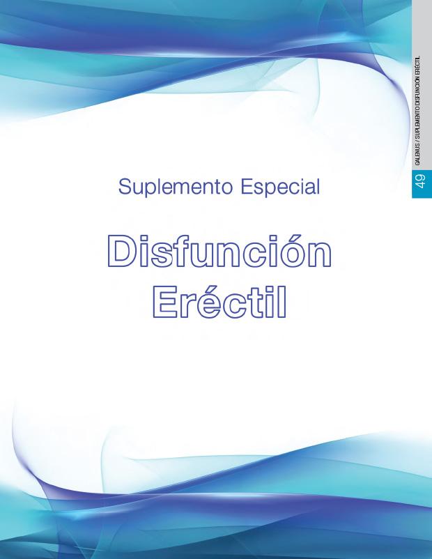 Suplemento Disfunción Eréctil