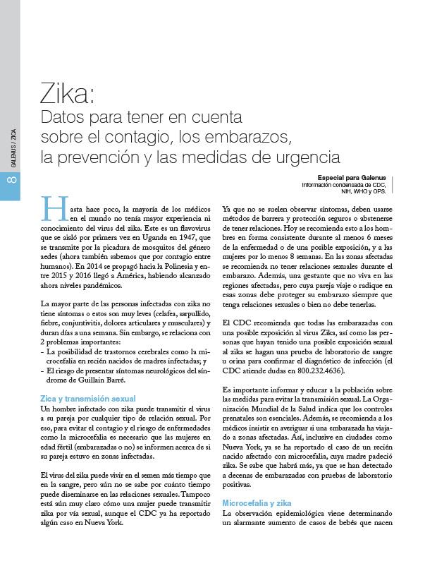 Zika: Datos para tener en cuenta sobre el contagio, los embarazos, la prevención y las medidas de urgencia