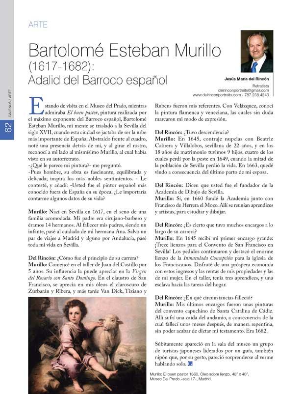 Arte: Bartolomé Esteban Murillo (1617-1682): Adalid del Barroco español