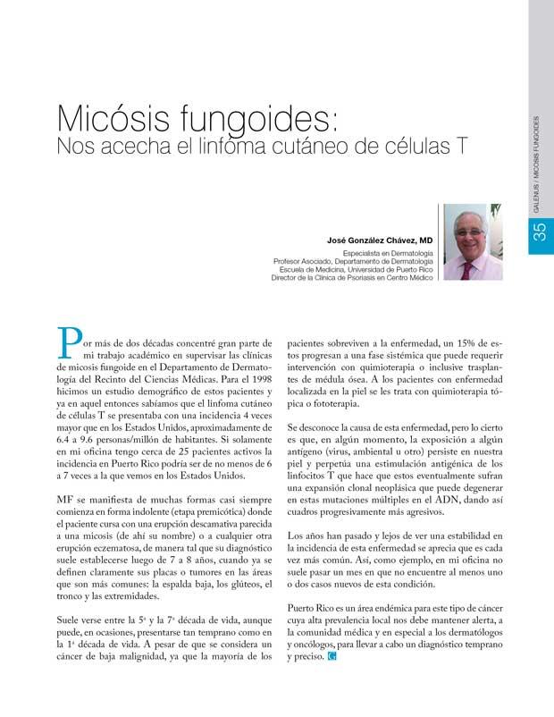 Micósis fungoides
