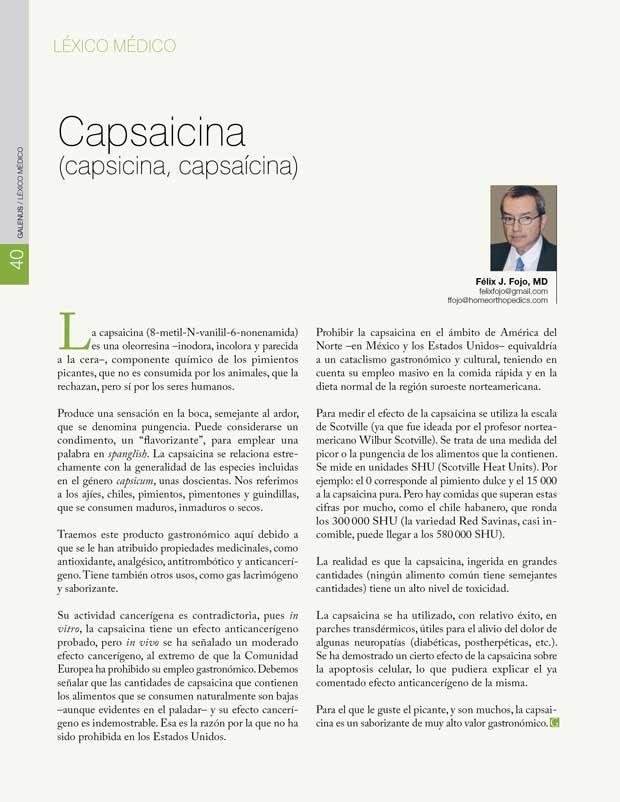 Capsaicina (capsicina, capsaícina)