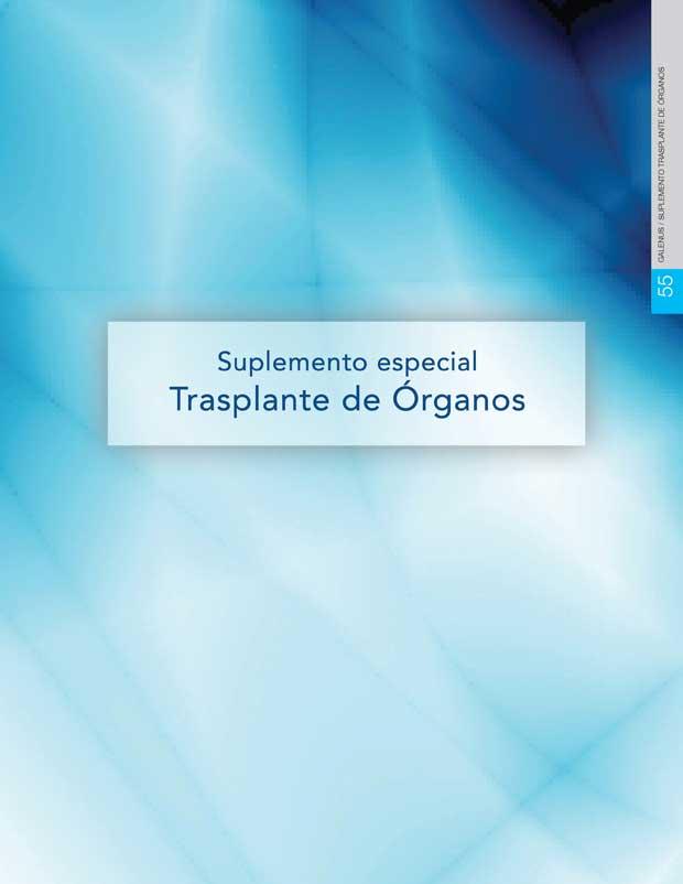 Suplemento Especial Trasplante de Órganos