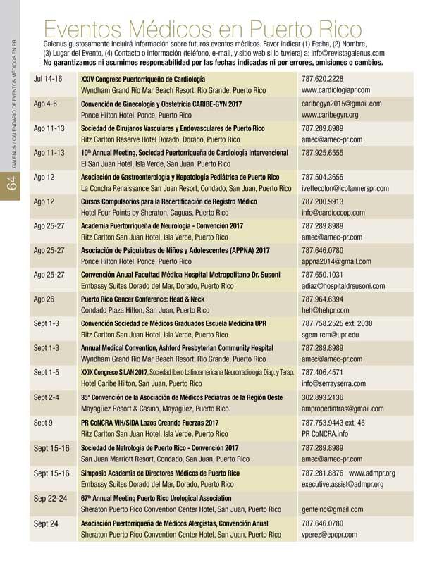 Eventos Médicos en Puerto Rico