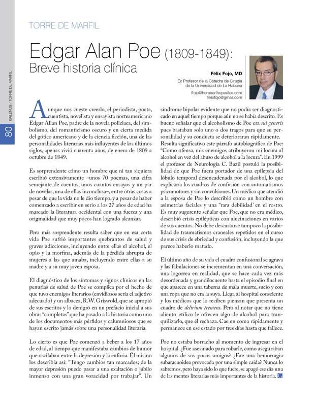 Torre de Marfil: Edgar Alan Poe
