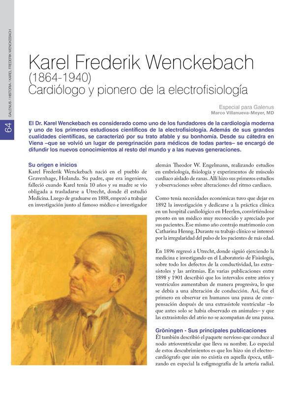 Historia: Karel Frederik Wenckebach