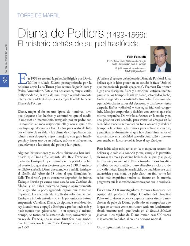 Torre de Marfil: Diana de Poitiers (1499-1566)