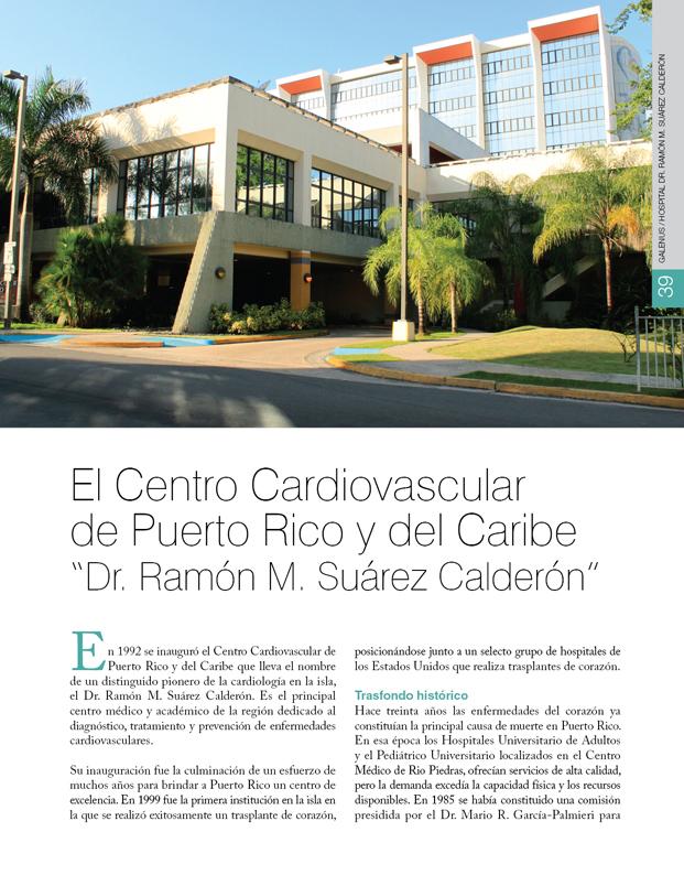 Hospital: El Centro Cardiovascular de Puerto Rico y del Caribe