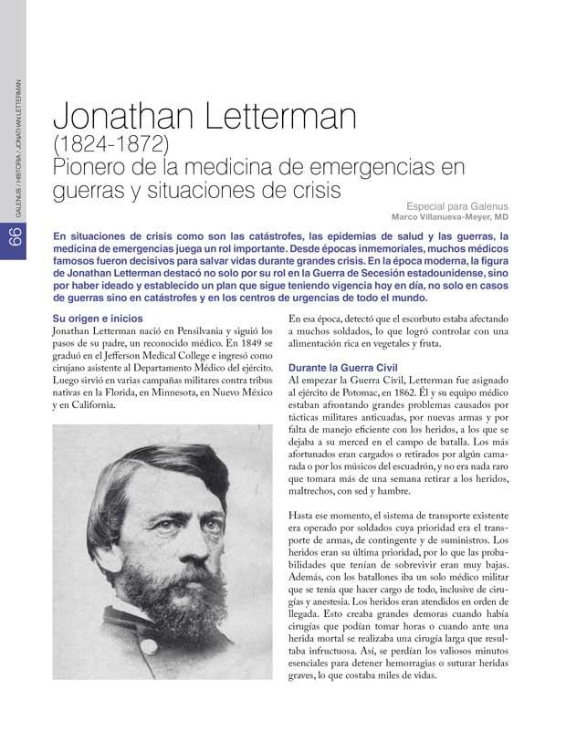 Historia: Jonathan Letterman