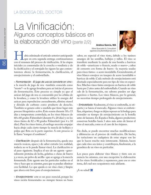 La Bodega del Doctor: La Vinificación: Algunos conceptos básicos en  la elaboración del vino (parte 2/2)