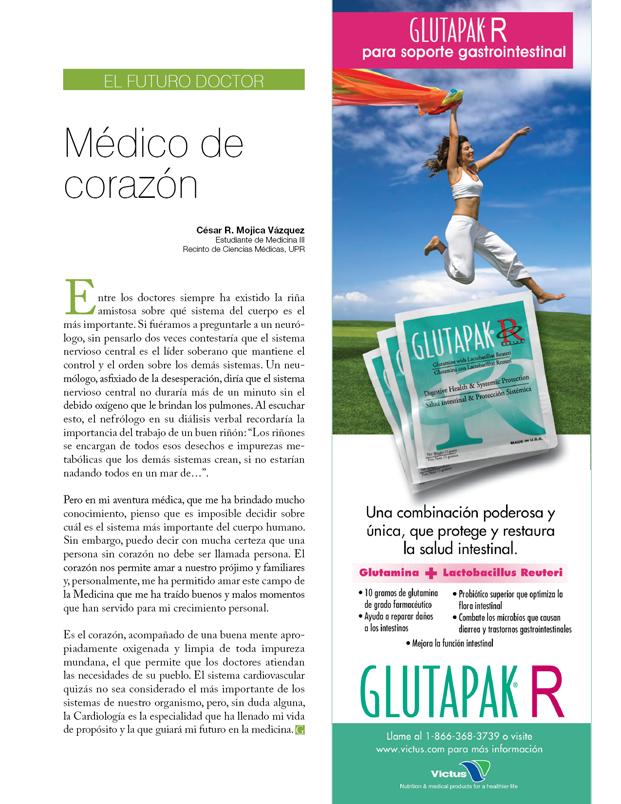 El futuro doctor: Médico de corazón