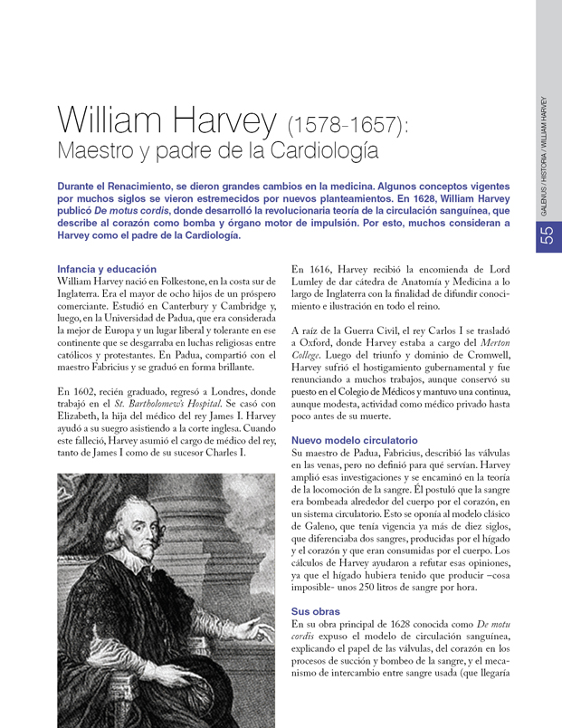 Historia de la Medicina : William Harvey y la Cardiología