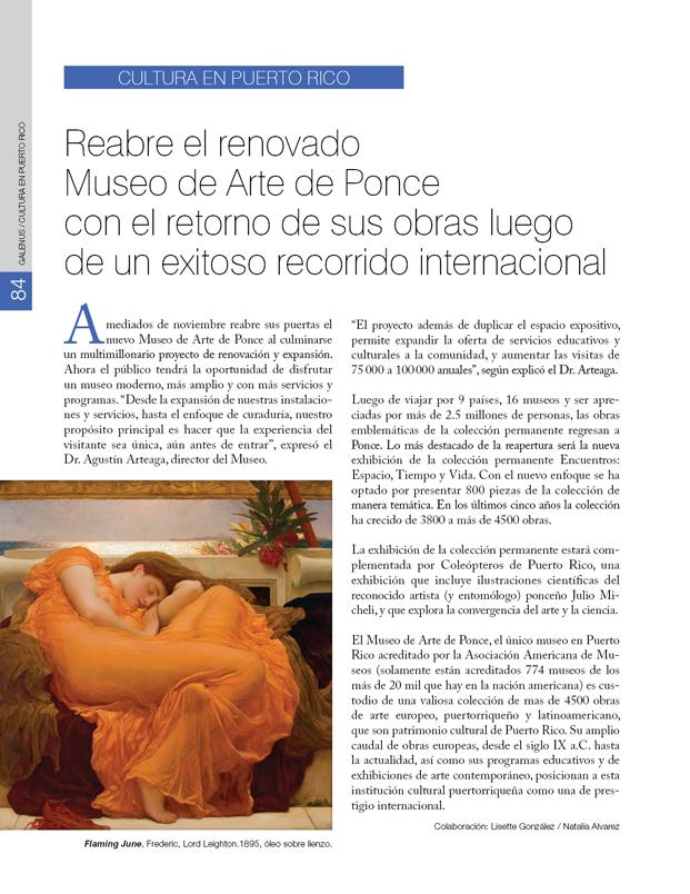 Cultura en Puerto Rico: Museo de Arte de Ponce