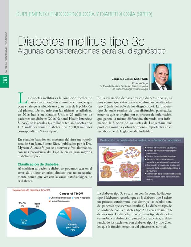 Diabetes mellitus tipo 3c
